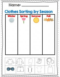 Clothes Worksheet For Kids Crafts And Worksheets For
