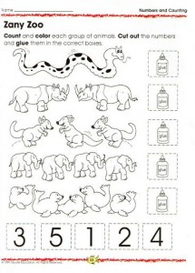 animal number count worksheet (13)