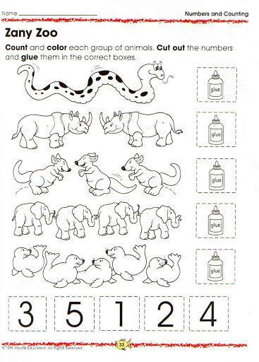 animal number count worksheet (13)