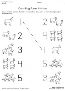 animal number count worksheet (18)