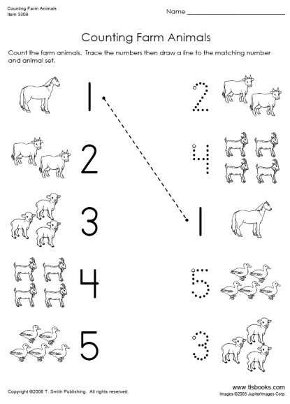 Common Worksheets number counting worksheets : Kindergarten Worksheets Counting To 18 - kindergarten worksheets ...