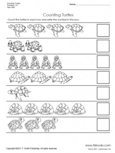 animal number count worksheet (19)