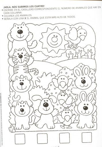 animal number count worksheet (4)
