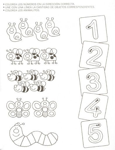 Common Worksheets number counting worksheets : www.preschoolactivities.us — New Post has been published on Crafts ...