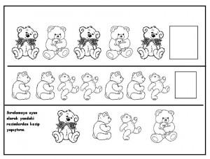 bear pattern worksheet
