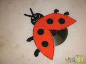 Cd Ladybug Craft X on kindergarten ladybug worksheet images