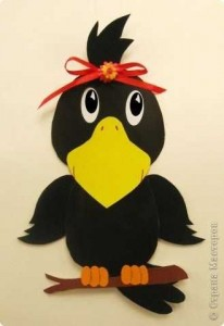crow craft idea