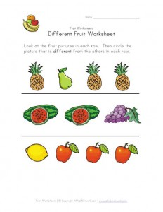 different-fruit-worksheet