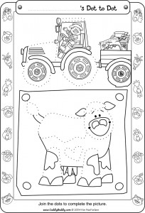 dot to dot farm worksheet