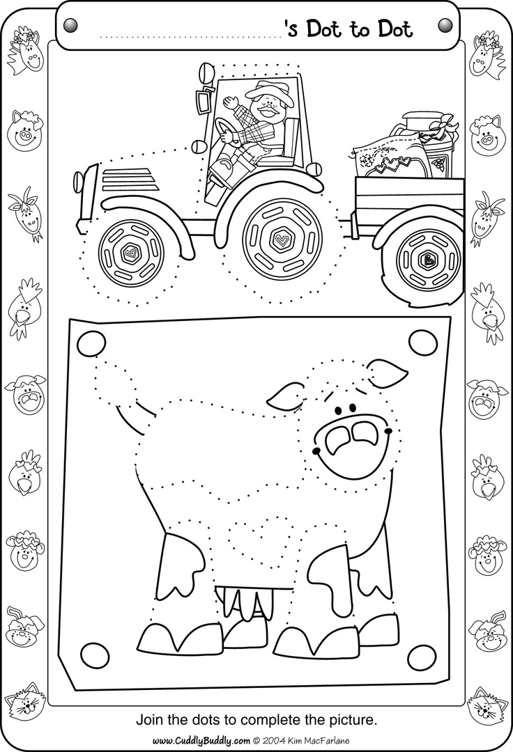 Farm Worksheets For Kindergarten : Crafts actvities and worksheets for preschool toddler