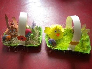 easter basket craft 1