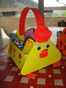 easter basket craft idea for kids (2)