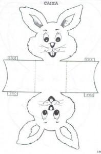 Easter Basket Craft Template