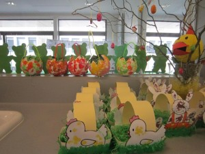 easter egg basket crafts