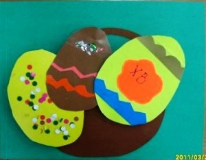 easter egg craft idea for kids (1)