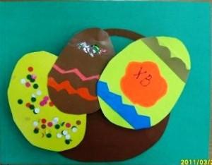 easter egg craft idea for kids (1)