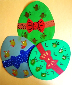 Easter Egg Craft Idea For Kids