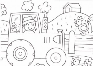 farm coloring page (1)