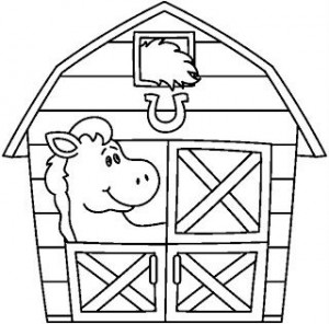 farm coloring page (5)