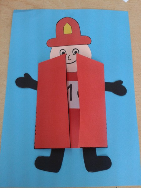 Free Firefighter Crafts For Preschoolers