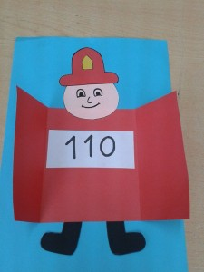 Community helpers craft idea for