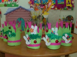 free easter egg basket craft (6)