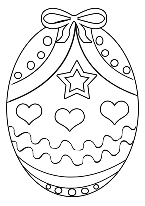 photo relating to Printable Easter Eggs named absolutely free printable easter egg coloring website page (13) Crafts and