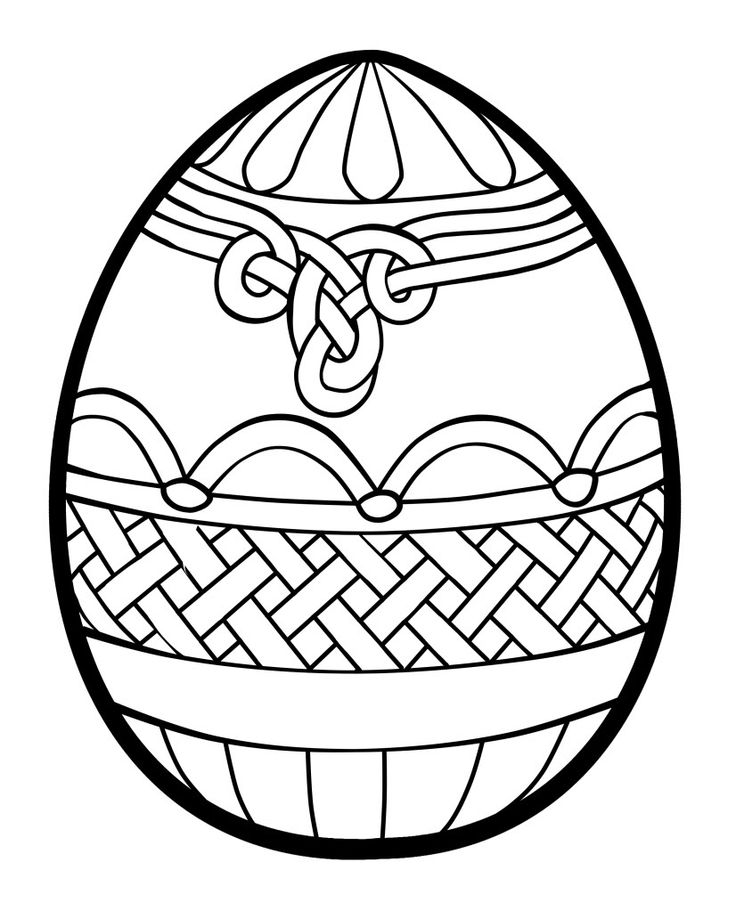 photograph about Free Printable Easter Eggs named free of charge printable easter egg coloring web page (17) Crafts and