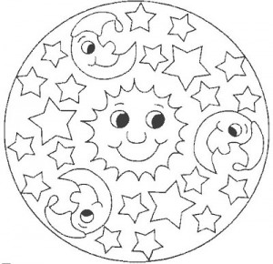 Free Space Coloring Page (1)