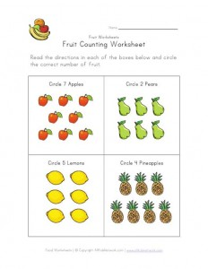 fruit-counting-worksheet