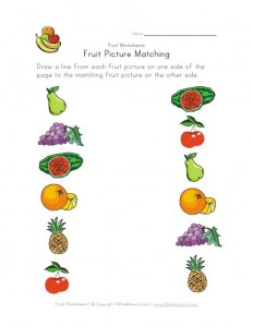 fruit-picture-matching