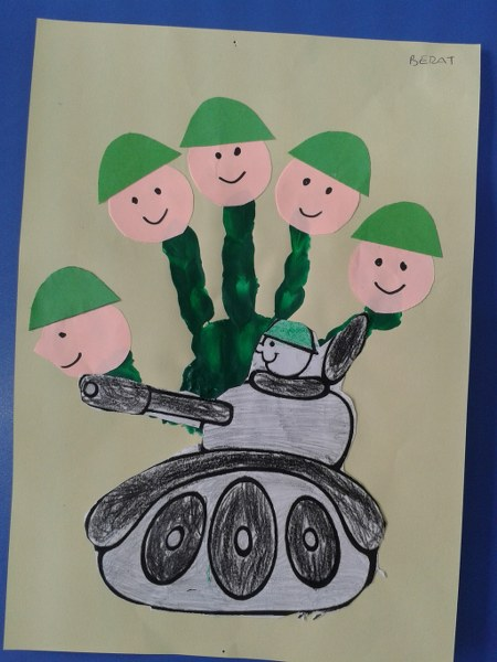 handprint soldier craft