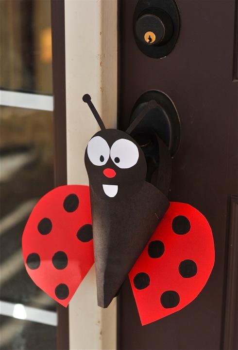 ladybug craft idea