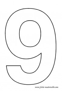 Number Templates 0 9 Crafts And Worksheets For Preschool