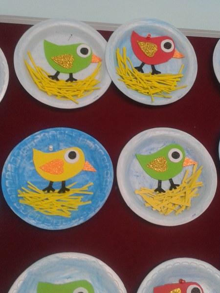 paper plate bird craft (1)_450x600 & CraftsActvities and Worksheets for PreschoolToddler and Kindergarten
