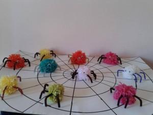 pon pon spider bulletin board