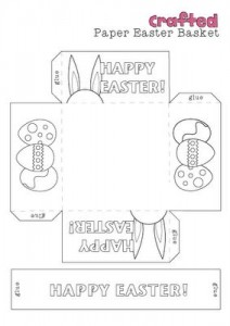 photo relating to Printable Easter Basket identify Easter basket craft template Crafts and Worksheets for