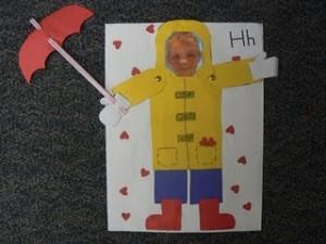 Umbrella Craft Idea For Kids