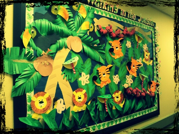 rainforest bulletin board idea for kids 1 (1)