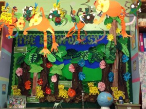 rainforest bulletin board idea for kids 1 (2)