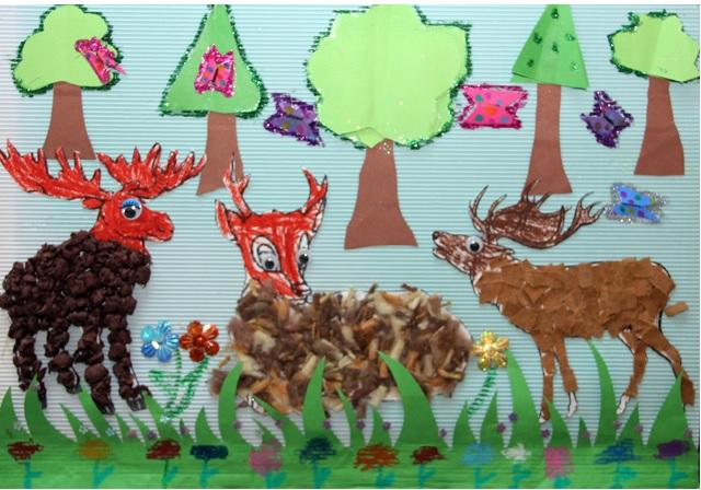rainforest bulletin board idea for kids 1 (3)