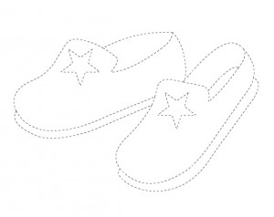 slipper trace worksheet