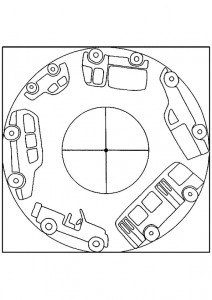 vehicle mandalas