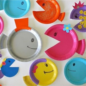 Paper Plate Fish Tutorial