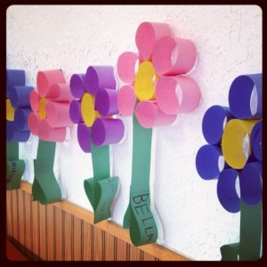 Preschool Flower craft