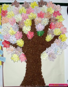 autmn tree craft