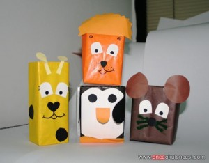 box animals craft