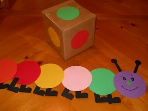 Caterpillar Craft Idea For Kids