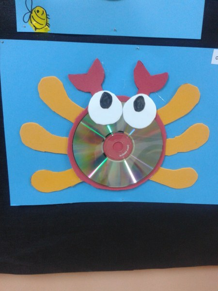 Cd craft idea for kids Crafts and Worksheets for