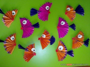 fish bulletin board idea for kids